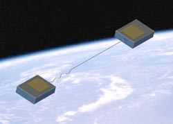 tethered picosats in orbit. The Aerospace Corporation.