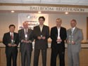 Foresight 2003 Feynman Prize Awards Ceremony. Steven Louie, Marvin Cohen, Ahmet Yildiz, Paul Holister, Carlo Montemagno