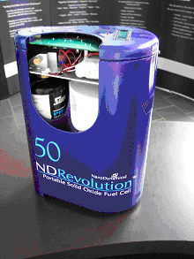 NanoDynamics Revolution� 50 fuel cell