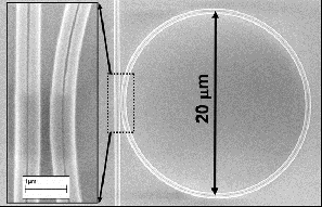 SMI - silicon nanophotonic chip