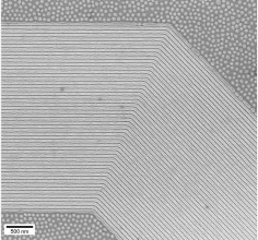 UWM - arrays of bent lines at the nanoscale