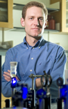 Chemist David Watson has received a CAREER Award to advance his photochemistry research.