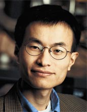 Chemist Peidong Yang, of the University of California, Berkeley, is the 2007 winner of the National Science Foundation's Alan T. Waterman Award.