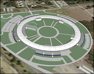 Proposed design of the National Synchrotron Light Source II.