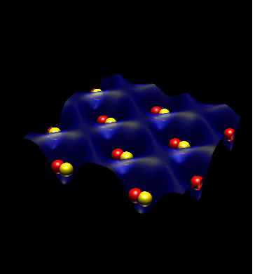 Thousands of pairs of rubidium atoms participate in a �quantum square dance� that may be useful in quantum computers.