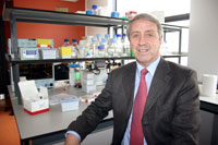 Professor Oliver Dolly, Director of the International Centre for Neurotherapeutics