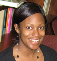 Ashanti Edwards, Education Program Coordinator for the Institute for NanoBioTechnology. Credit: INBT/JHU