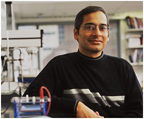 Ravi S. Kane, professor of chemical and biological engineering (photo by RPI/Mark McCarty)