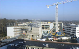 A panorama of the new Mountbatten Building (December 2007)