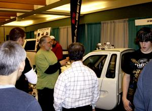 With record oil and gas prices, ZAP Minnesota and Xebra Owner Gary Hoover had the only gas-free electric car and truck for sale at the Twin Cities Auto Show this week. ZAP (zapworld.com) sells a sedan and a truck through 50 dealers across the country.