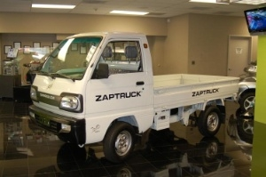 Electric car pioneer ZAP (OTC BB: ZAAP) is introducing a larger pickup for government, corporate and utility fleet niche applications. A prototype of the ZAP XL Truck has been completed between ZAP and its Chinese manufacturing partner and production models are expected for delivery to customers by the fall of this year. (Photo: Business Wire)