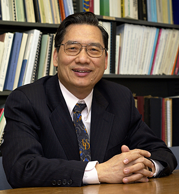 Chin-Pao (C.P.) Huang, Donald C. Phillips Professor of Civil and Environmental Engineering, has been named the 2008 recipient of the Francis Alison Award, the University's highest faculty honor.