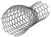 Illustration of a carbon nanotube