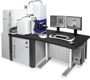 Carl Zeiss SMT adds third column to NVision 40 CrossBeam system for Argon supreme milling of TEM lamella.