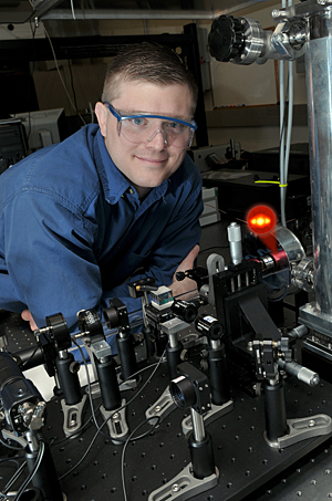 UD's Matthew Doty has won a prestigious NSF Career Award for his work in quantum dot molecules.