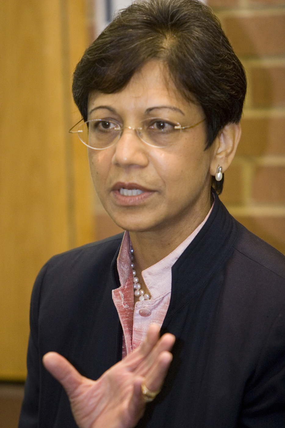 DuPont SVP and Chief Science & Technology Officer Uma Chowdhry at the Experimental Station