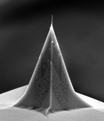 High-aspect Ratio AFM CNT Probe from Carbon Design Innovations