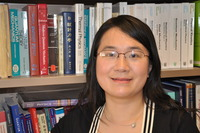 Chun Ning (Jeanie) Lau is an associate professor in the Department of Physics and Astronomy at UC Riverside. Photo credit: UCR Strategic Communications.