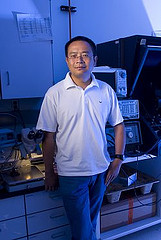 N. J. Tao, director of the Center for Bioelectronics and Biosensors at the Biodesign Institute of Arizona State University, has experimentally measured an important property of graphene – a two-dimensional crystal lattice with broad potential for electronic applications.