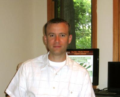 Virginia Tech Assistant Professor of Aerospace and Ocean Engineering Michael Philen is the principal investigator in an interdisciplinary, three-university, National Science Foundation study to create biologically inspired material systems that have hierarchically structured sensing, actuation, and intelligent control.
