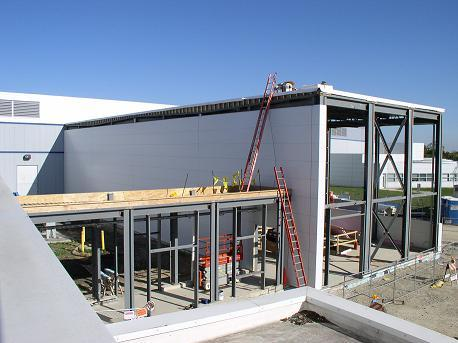 new scanning probing microscopy building under construction