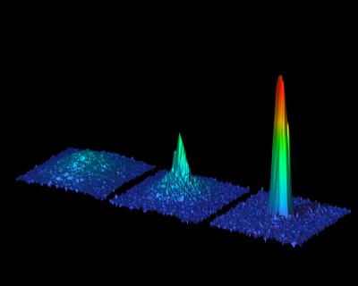In an international first, scientists from the Institute of Quantum Optics and Quantum Information in Austria produced a Bose-Einstein condensate of the alkaline-earth element strontium.