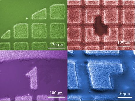 Carpets of boron nitride nanotubes grown on a substrate by Yoke Khin Yap's research group