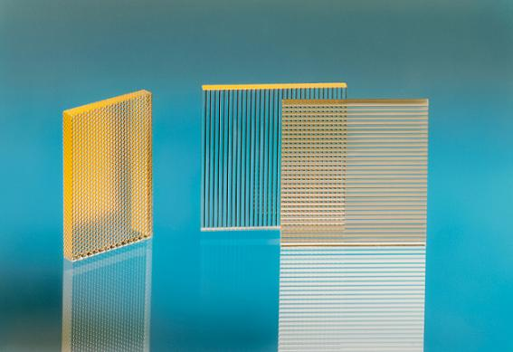 Micro-optical elements bundle and homogenize the light. (© Fraunhofer IOF)