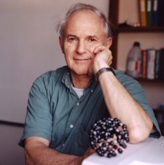 "Professor Sir Harold ""Harry"" Kroto, Ph.D., 1996 recipient of the Nobel Prize in Chemistry. Courtesy Florida State University."