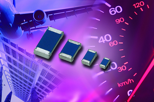 Vishay�s extended MC AT series of professional automotive thin film chip resistors includes devices in the 0402, 0603, 0805, and 1206 case sizes and features high-temperature performance to 175 �C for 1000 hours. The new precision version of the series offers a low TCR down to � 15 ppm/K and tight tolerances of � 0.1 %.
