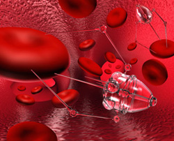 This illustration was used to represent a nanoscale medical device in the national survey on public attitudes towards the use of nanotechnology for human enhancement.