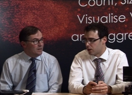 Speakers presenting a recent NanoSight webinar