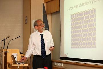 Nobel Prize laureate in Chemistry Prof. Robert F. Curl lectures at Bar-Ilan University
