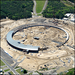 National Synchrotron Light Source II under construction