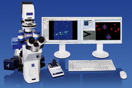 JPK NanoWizard�3 Bioscience AFM With Zeiss AxioObserver RX