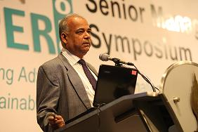 Dr. Mahendra Patel, Author of this book, making a presentation on �Applications of Micro and Nanotechnology in Paper Manufacturing� in PaperAsia2010 at Bangkok