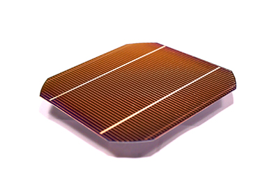 Imec�s Cu-plated large-area silicon solar cell with 19.4% efficiency.