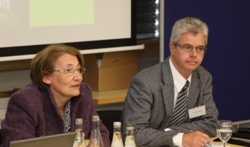 (Dr. R. M�ssner (left), Dr. H. Kindle (right). � 2010 The Innovation Society, St.Gallen)