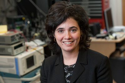 Michal Lipson, associate professor of electrical and computer engineering