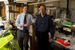 Martin Pomper and Peter Searson will co-direct INBT's new Center of Cancer Nanotechnology Excellence (Photo: Will Kirk/Homewood-JHU)