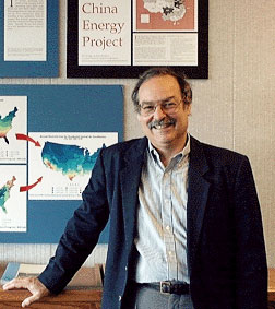 Berkeley Lab scientist Mark Levine, head and founder of the China Energy Group.