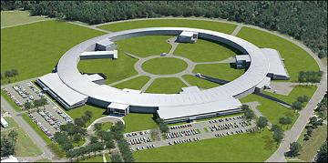 Artist's rendering of the National Synchrotron Light Source II.
