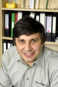 "The Royal Swedish Academy of Sciences awarded the Nobel Prize in Physics for 2010 to Andre Geim (University of Manchester, UK) and Konstantin Novoselov (University of Manchester, UK) ""for groundbreaking experiments regarding the two-dimensional material graphene."" Credit: University of Manchester, UK"