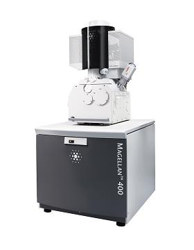 Magellan extreme resolution scanning electron microscope (SEM) for life sciences. The first of its kind, the Magellan enables researchers to actually view the entire organization of a cell in its natural, fully-hydrated state.