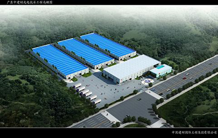New facility in San Shui, Guang Dong, P.R.C.