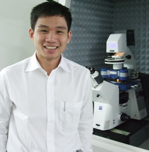Dr Philip Lui, JPK's new applications specialist based in Singapore