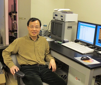 Guojun Liu's nanotechnology discovery has been awarded with the prestigious Captain Alfred E. Hunt Award.