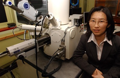 Project leader, Dr Wenhui Song