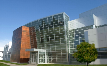 The Birck Nanotechnology Center located within Purdue University�s unique Discovery Park.