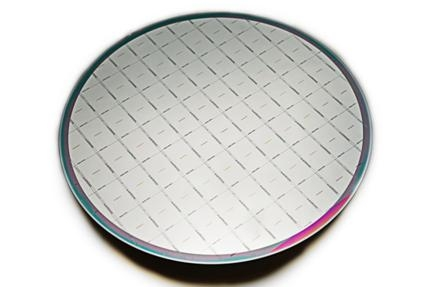 Wafer with EUV sensor dies, produced on imec�s 200mm CMORE line